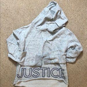 Justice • girls hooded sweatshirt